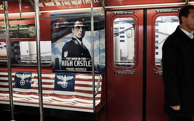 Amazon Nazi subway ad
