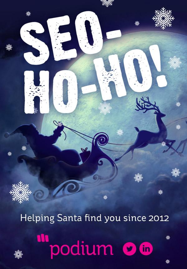 SEO-HO-HO: Merry Christmas From Podium!