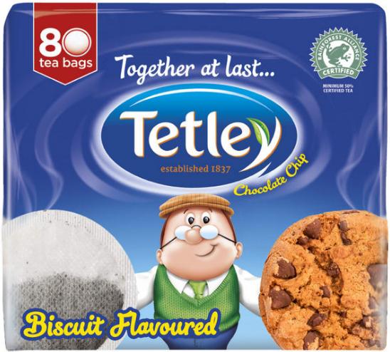 tetley biscuit tea