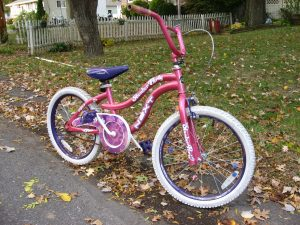 Matt's bike.