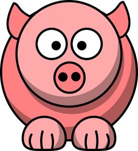Turns out it's quite hard to find a royalty-free image of Peppa Pig
