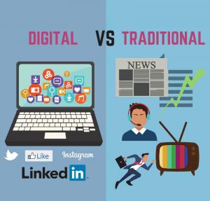 digital vs traditional
